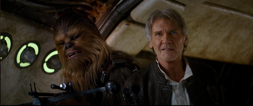 """""""Chewie, we're home"""" - kadr z teasera """"Gwiezdnych Wojen VII: Przebudzenie Mocy"""" / materiały producenta / YouTube"""